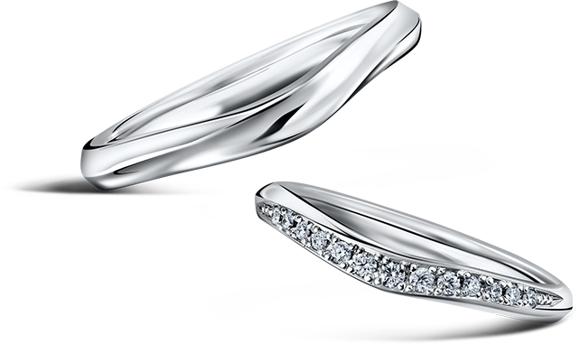 MARRIAGE RING CRESCENT