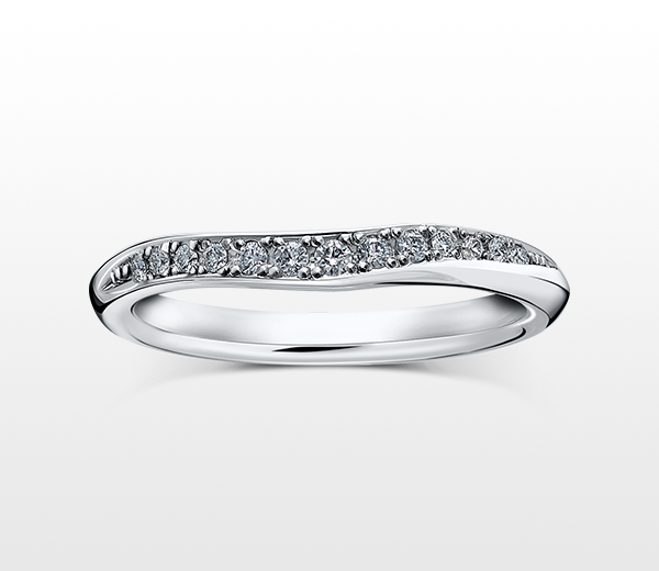 MARRIAGE RING CRESCENT 2