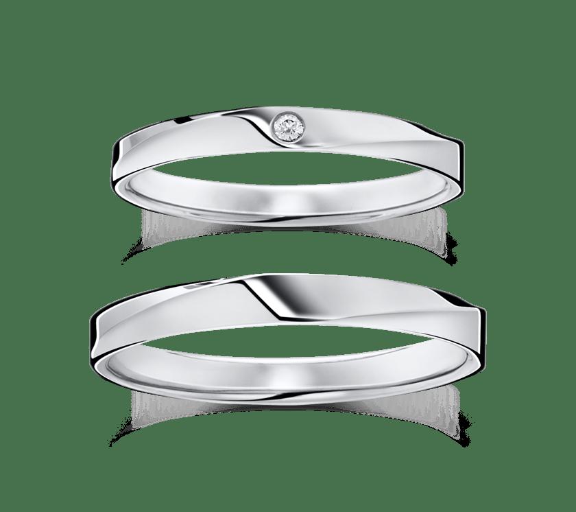 広島でおすすめの結婚指輪ショップ「ラザールダイヤモンド」のリングデザイン例4